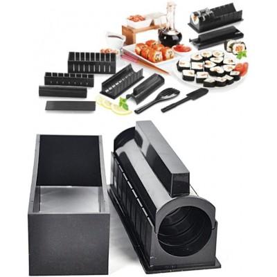 Kit de fabrication de sushi - Kit Original Sushi Deluxe - Ensemble de Sushi Kit avec 11 pièces - Facile et amusant - Sushi Rolls