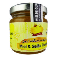 Miel et Gelée Royale 100% Pur 100 g. (90g Miel d'Oranger et 10g gelee royale)