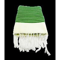 CHAMALIA (cape/ tissu traditionnel/ Décoration). Dimensions 1m60/80cm. Couleur verte