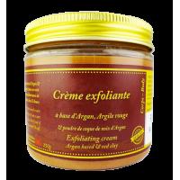 Gommage à base d'Argan, Argile rouge et coque de la noix d'Argan 250g
