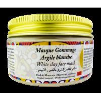 Masque Gommage Argile Blanche. 100g