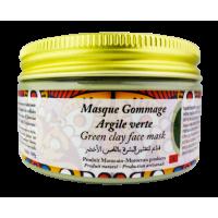 Masque Gommage Argile Verte. 100g